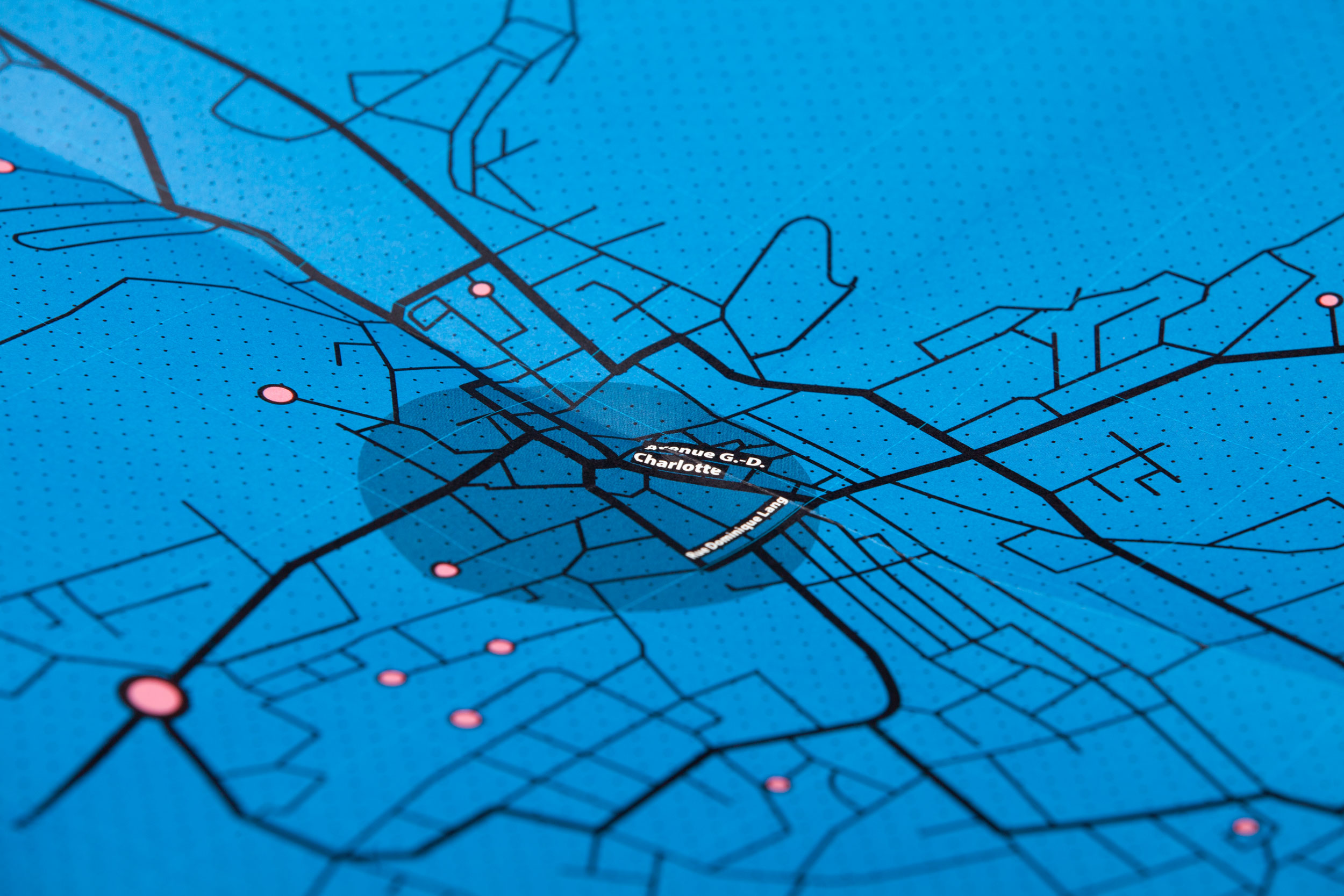 Düdelingen Map